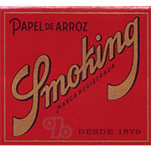 Smoking Red Square 1 1/4 Rolling Papers