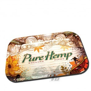 Pure Hemp Small Rolling Tray from Pure Hemp Rolling Papers