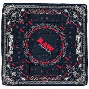 RAW Black Bandana