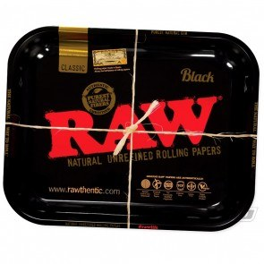 RAW Black Rolling Tray