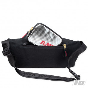 RAW Black Sling Bag