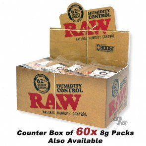 RAW x BOOST 62% Humidity Pack 8 gram