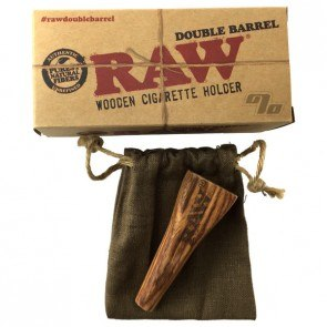 RAW Double Barrel 2 Joint Holder - King Size