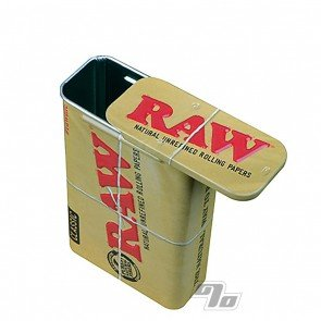 RAW Slide Top Metal Tin