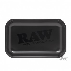 RAW Matte Black Small Rolling Tray