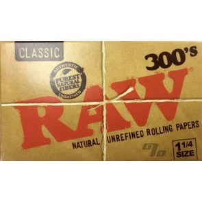 RAW Rolling Papers Natural 300's Pack