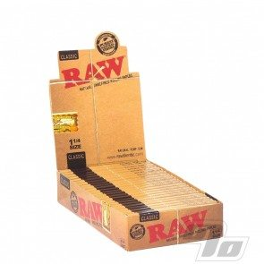 RAW Natural 1 1/4 Rolling Papers