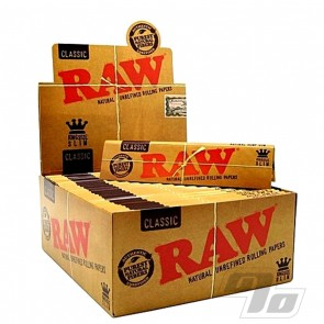 RAW Natural Rolling Papers King Size Slim