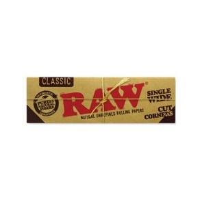 RAW Natural SW Cut Corner Rolling Papers