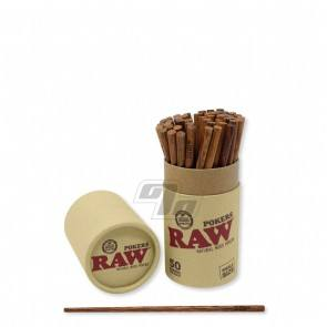 RAW Wooden Poker for rolling up your own cones or packing down some pre-rolled ones.