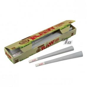 RAW King Size OG Hemp Cones 32 Pack