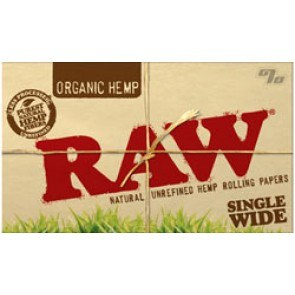 RAW Organic SW Rolling Papers
