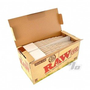 RAW King Size Cones 800 Pack Organic Hemp