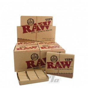 RAW Rolling Papers Prerolled Tips