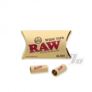 RAW Pre-Rolled Wide Herbal Tips