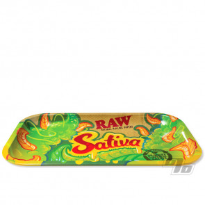 Sativa RAW Rolling Tray Small