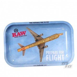 RAW Prepare for Flight Small Rolling Tray