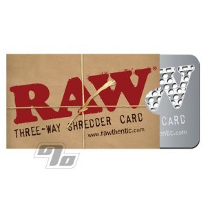 RAW Shredder grinder card