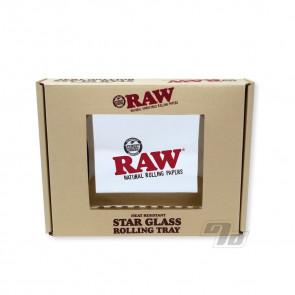 RAW Star Glass Mini Rolling Tray