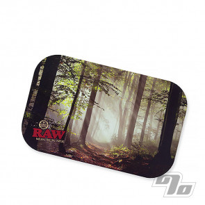 RAW Smokey Trees Magnetic Tray Cover small
