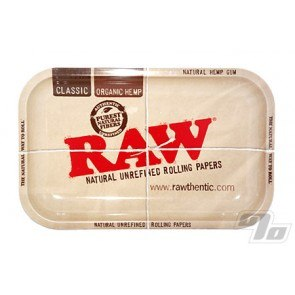 Metal Rolling Tray from RAW Rolling Papers