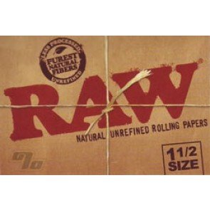 RAW Natural 1 1/2 Rolling Papers