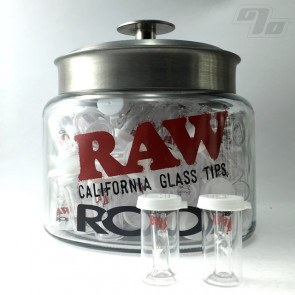RAW + Roor Glass Filter w/ Round Tip