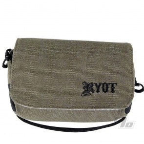RYOT Piper Case Smell Safe in Olive