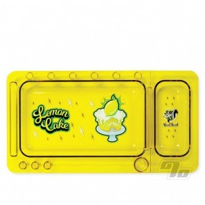 Skunk Rolling Tray Lemon Cake
