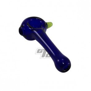 Cobalt Slime-Dot Spoon Pipe