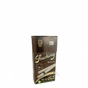 Smoking Brown Ultra Slim Bio Cigarette Filters 120/Pack