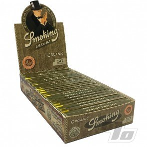 Smoking Organic Hemp 1 1/4 Rolling Papers
