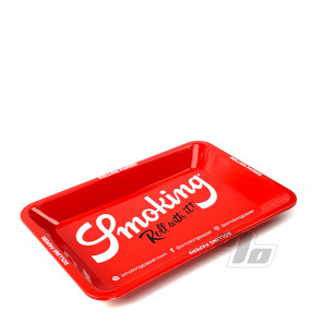 Smoking Papers Mini Red Rolling Tray