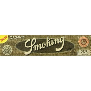 Smoking Organic Rolling Papers King Size