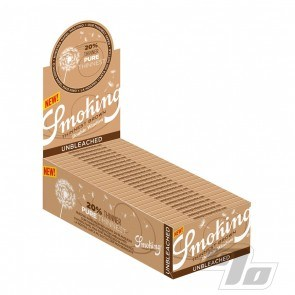 Smoking Thinnest Brown SW Rolling Papers Double Window