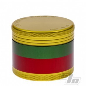 Space Case Rasta Grinder Sifter in Medium with magnet