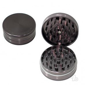 Small Space Case Titanium Grinder with Magnet