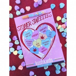 Stoner Sweeties Kush Hitter Kards