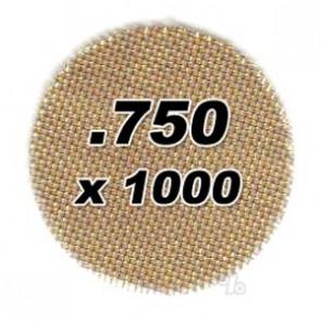 1000 .750 Brass Pipe Screens 2