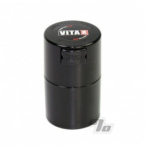 Vitavac Black air tight storage container