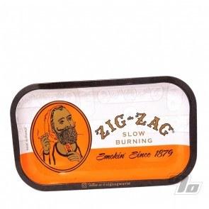 Zig Zag Classic Orange Small Rolling Tray