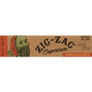 Zig Zag Unbleached King Size Rolling Papers