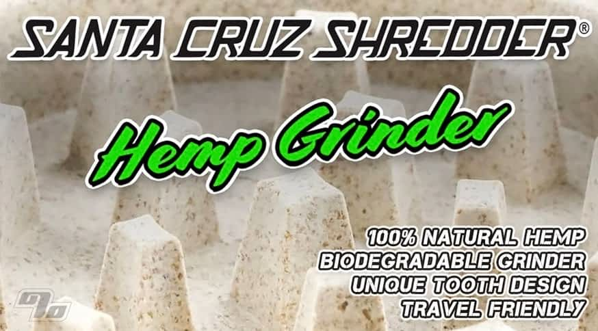 Santa Cruz Shredders Hemp Grinder