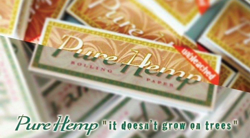 Pure Hemp Rolling Papers are the best hemp rolling papers