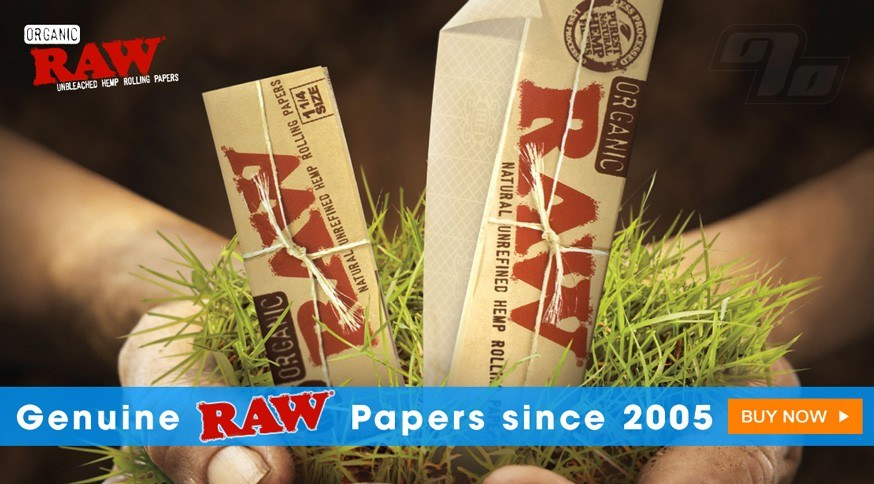 RAW Rolling Papers are the best rolling papers