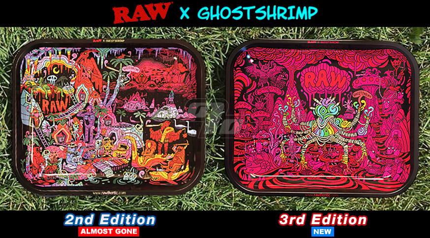 RAW x Ghostshrimp Rolling Trays are limited edition